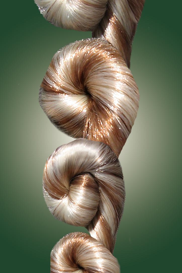 1-strand, rosette, braid, mini