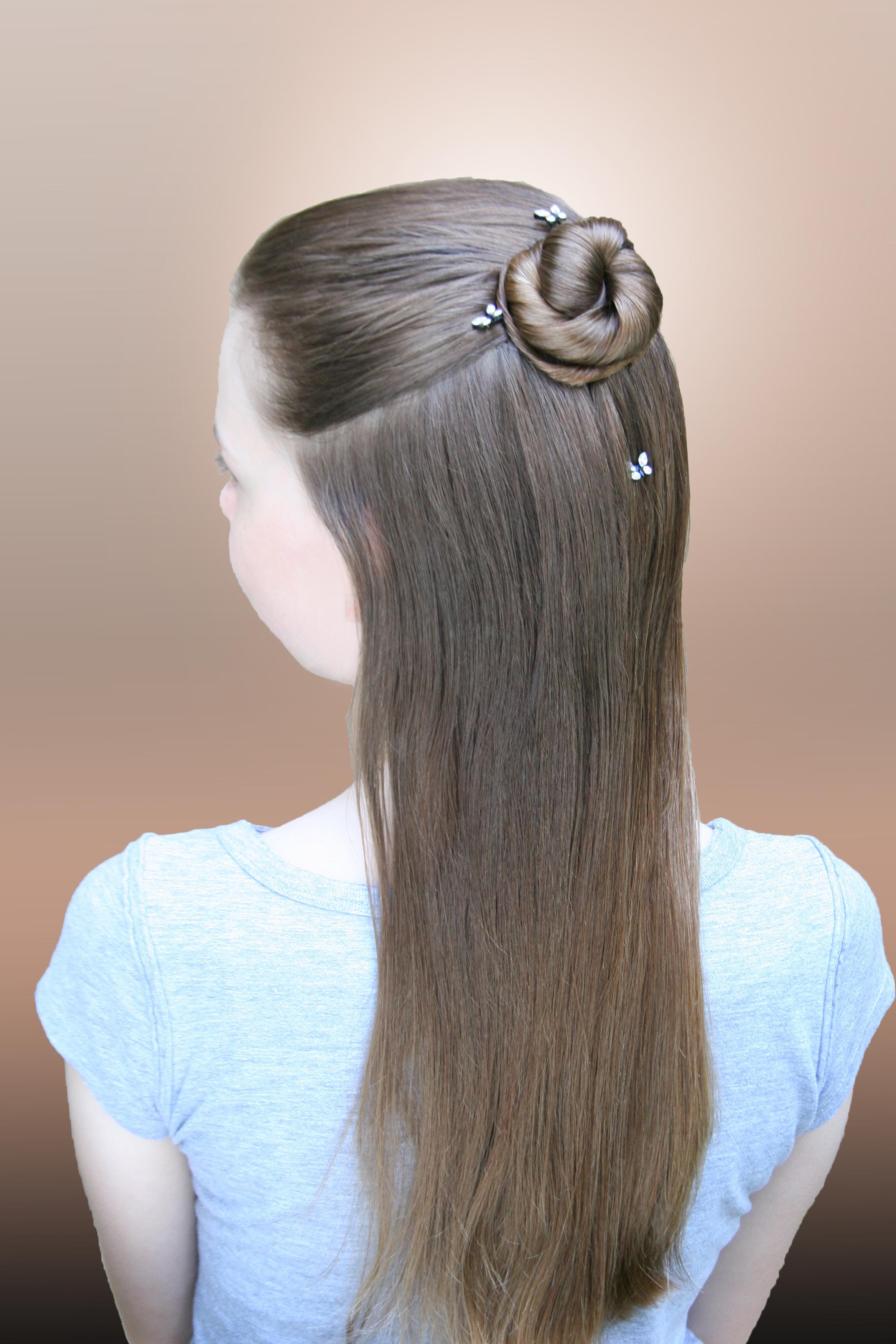 1-strand, rosette, braid, tail, cascade
