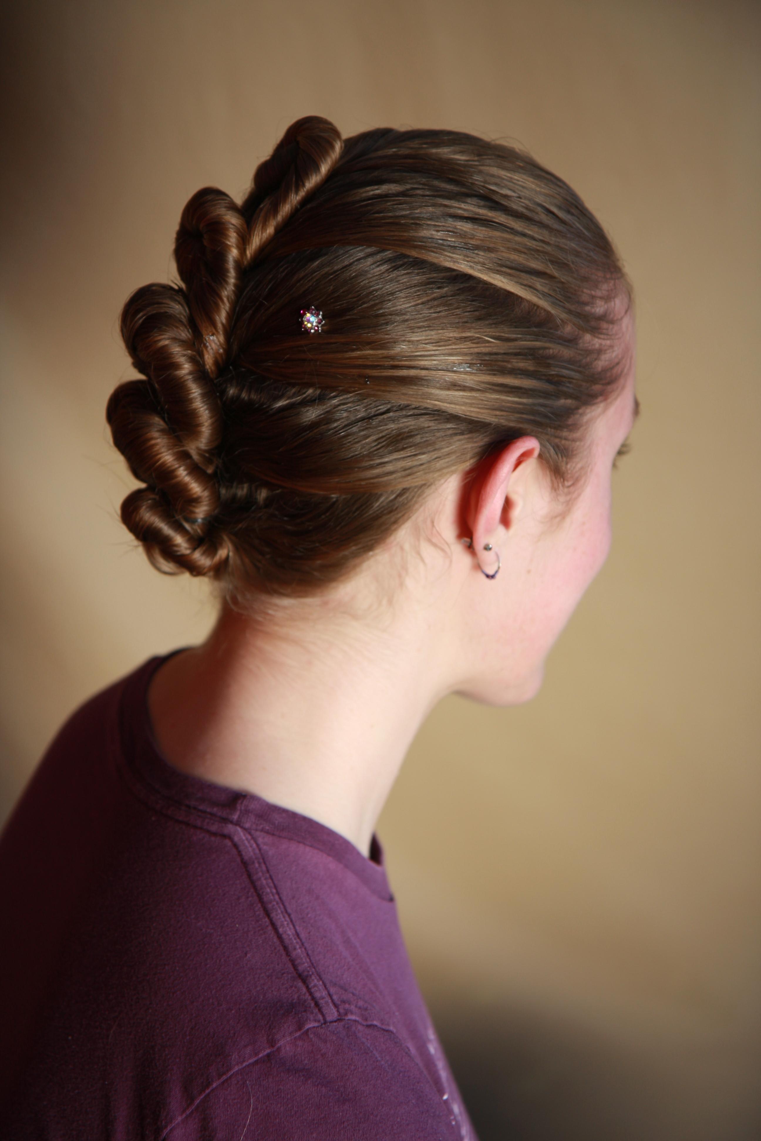 1-strand, rosette, stitch, single