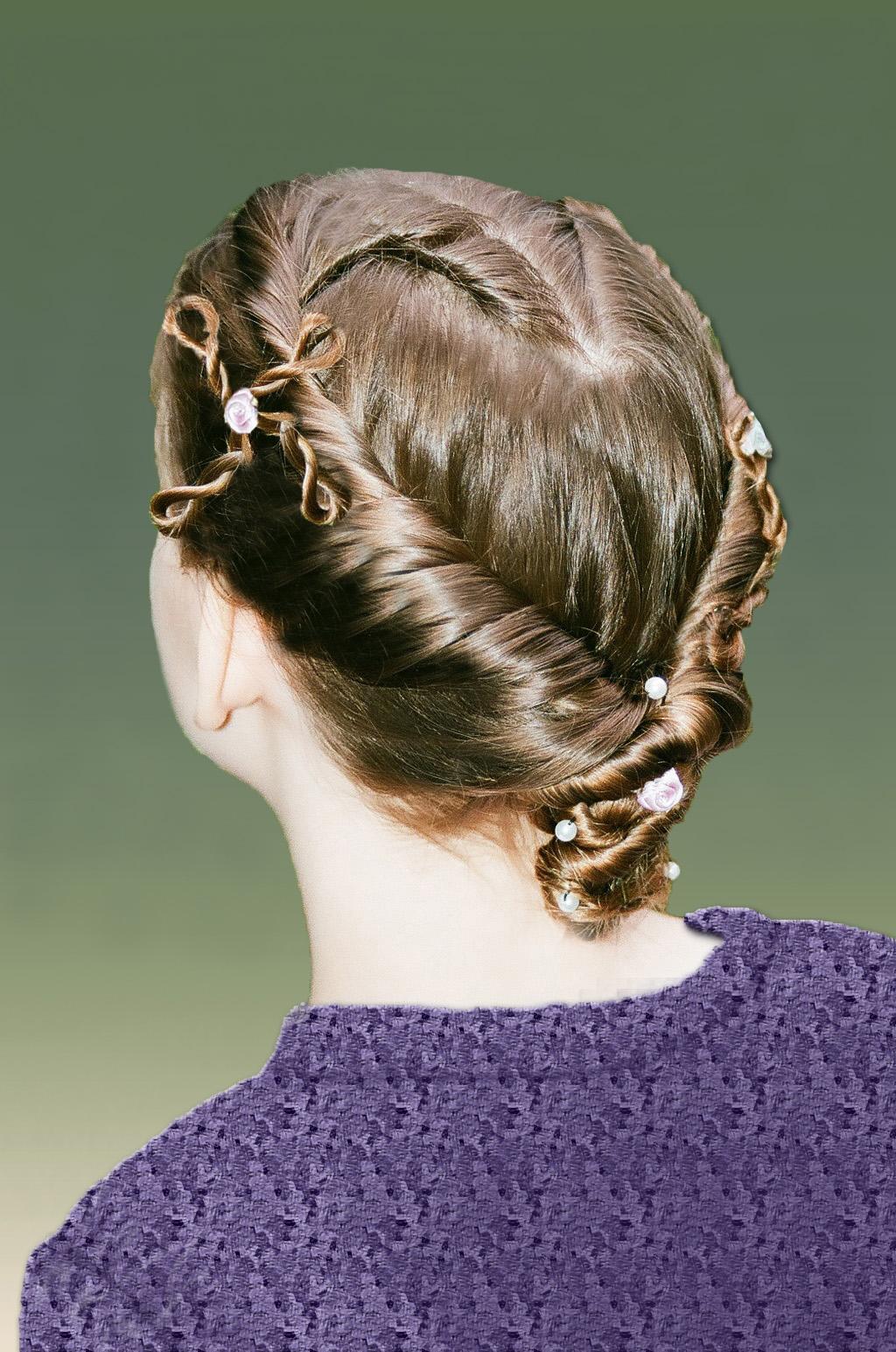 1-strand, twist, lace, heart, mini one twist