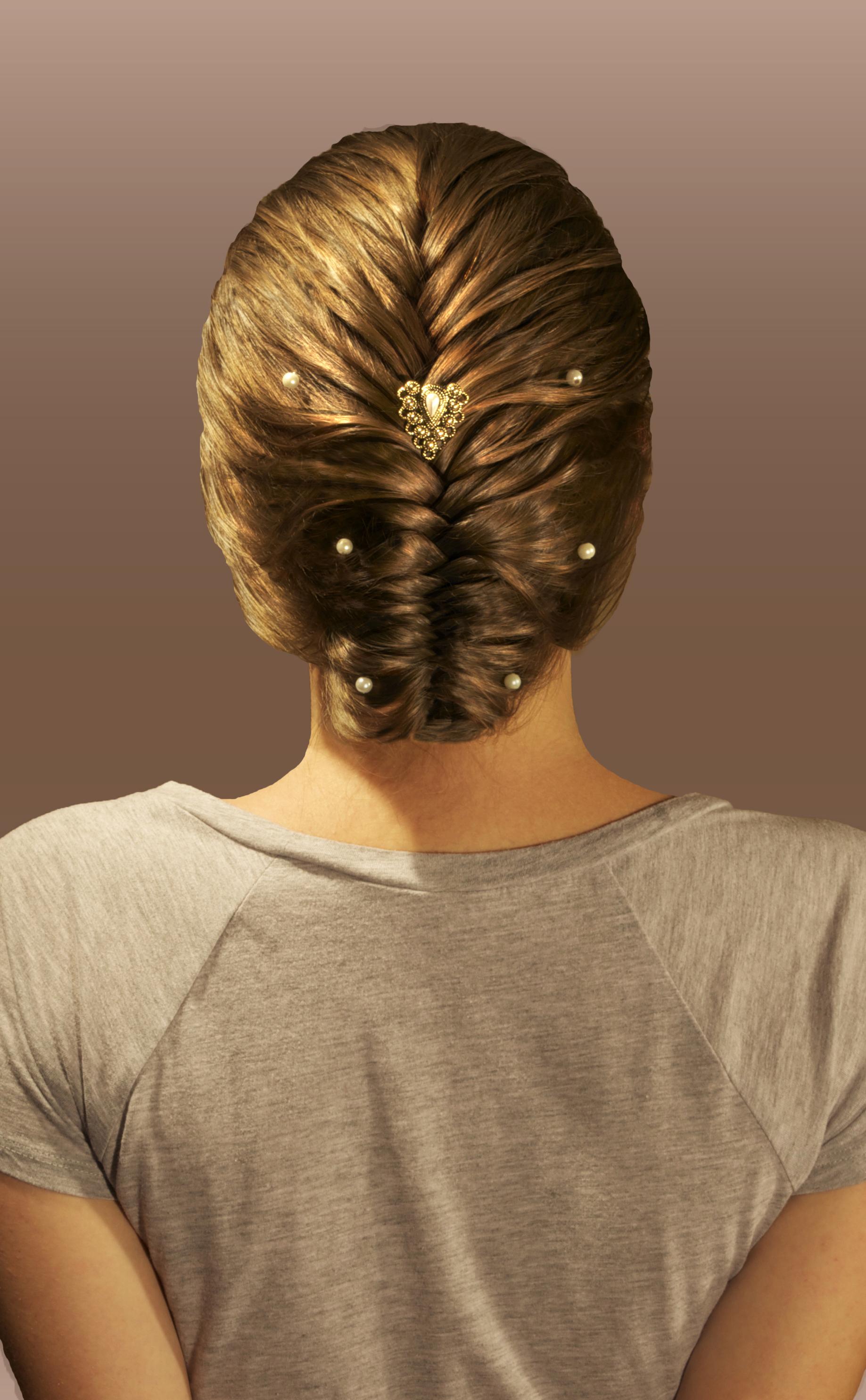 2-strand, herringbone, stitch, single