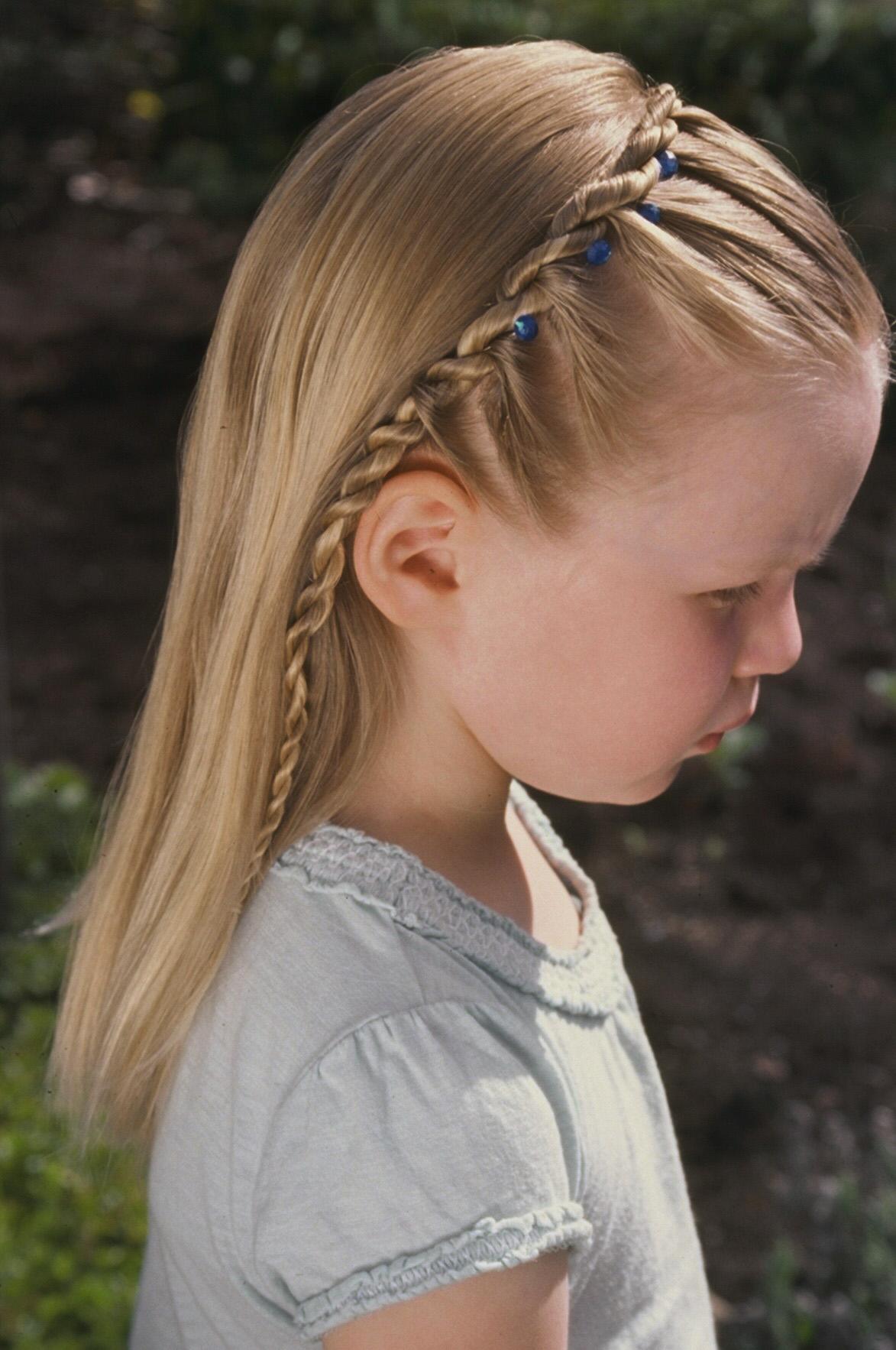2-strand, rope, lace, headband, cascade