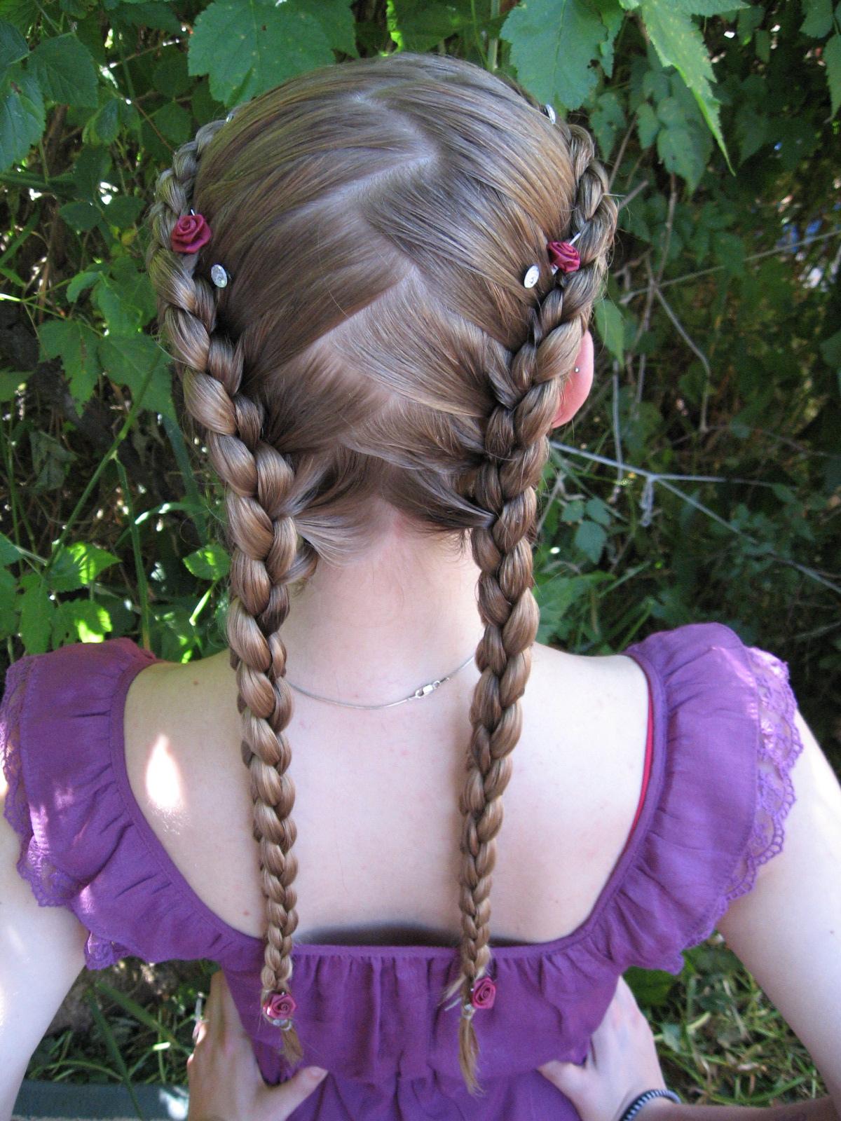 4-strand, round stitch, double