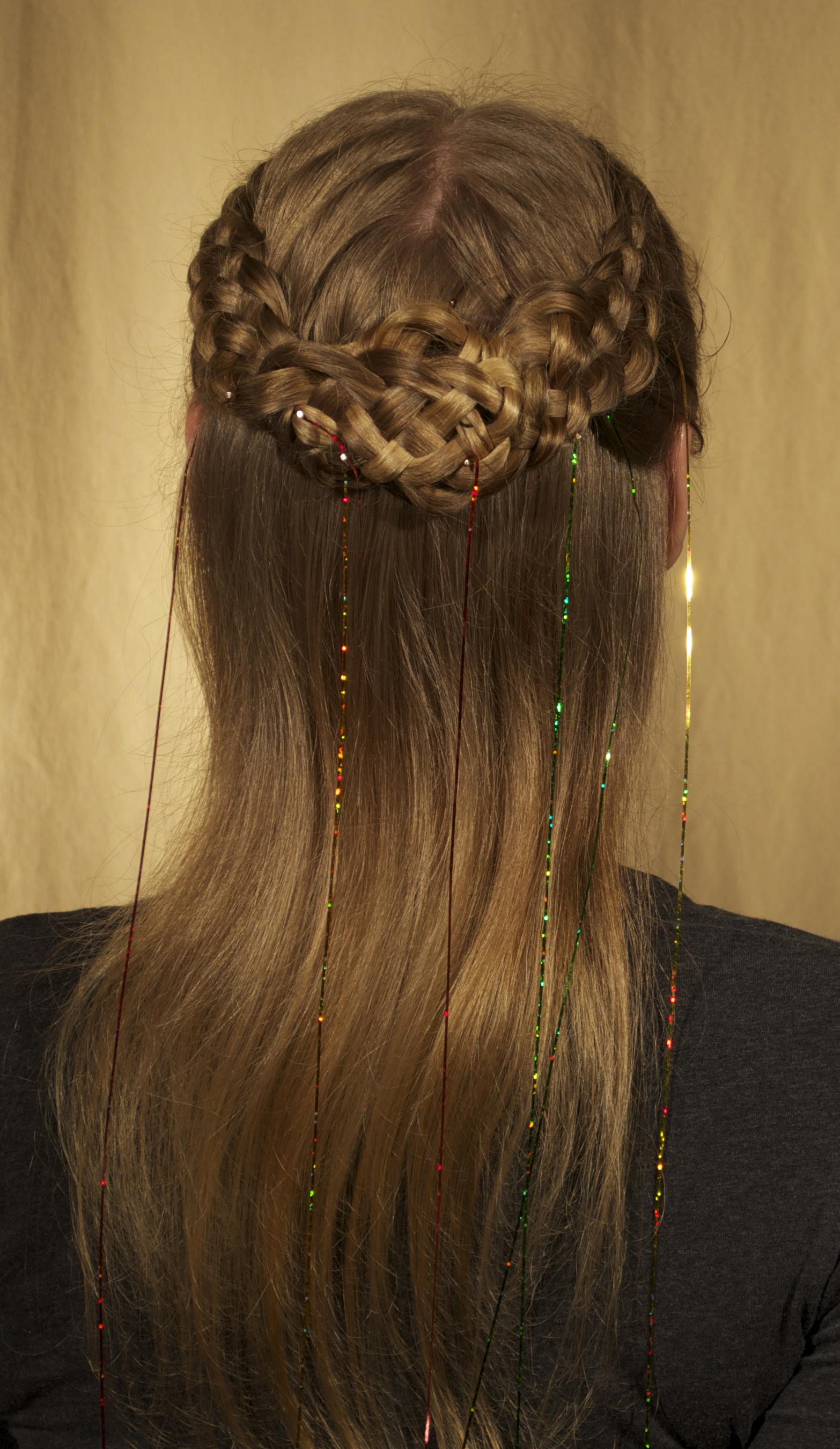 5-strand, dutch, stitch, classic, cascade, ribbon
