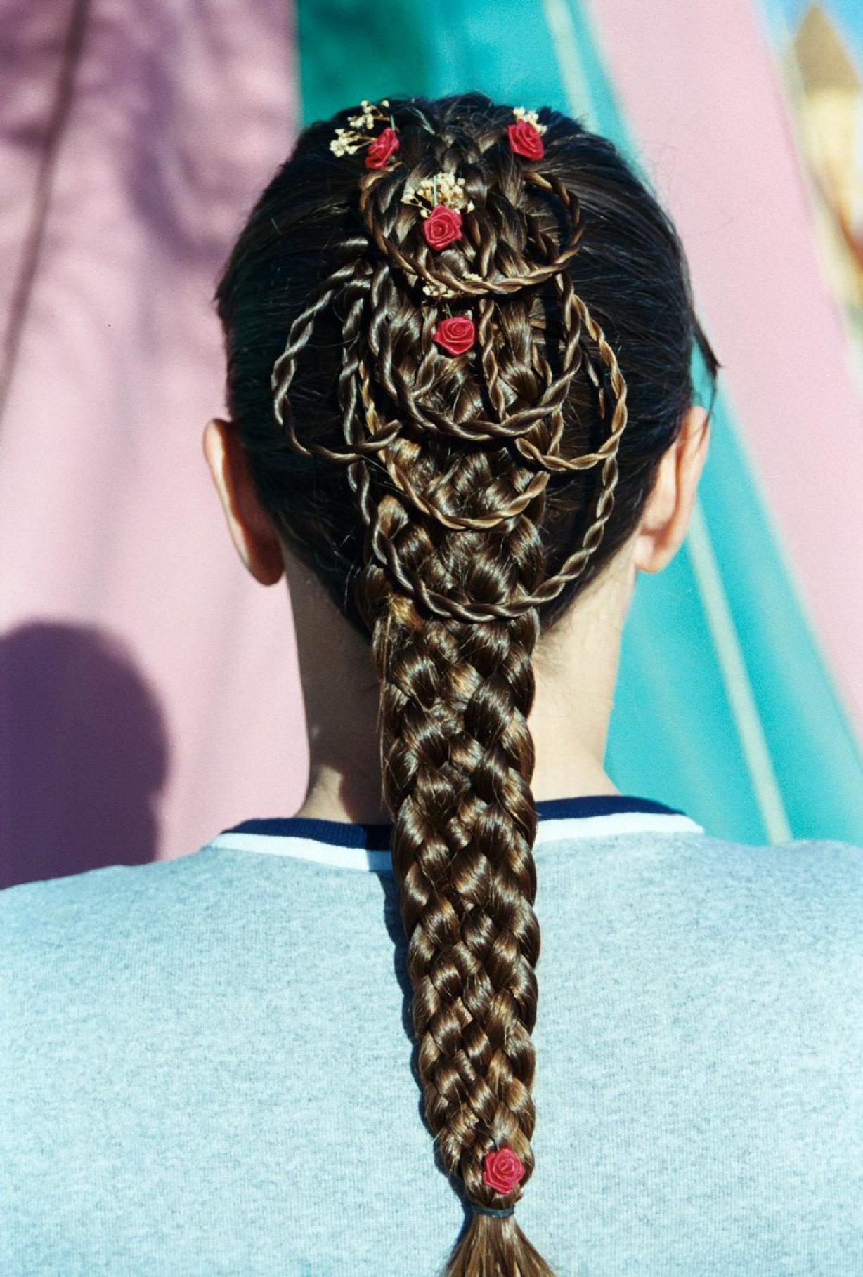 7-strand, dutch, stitch, single, mini rope