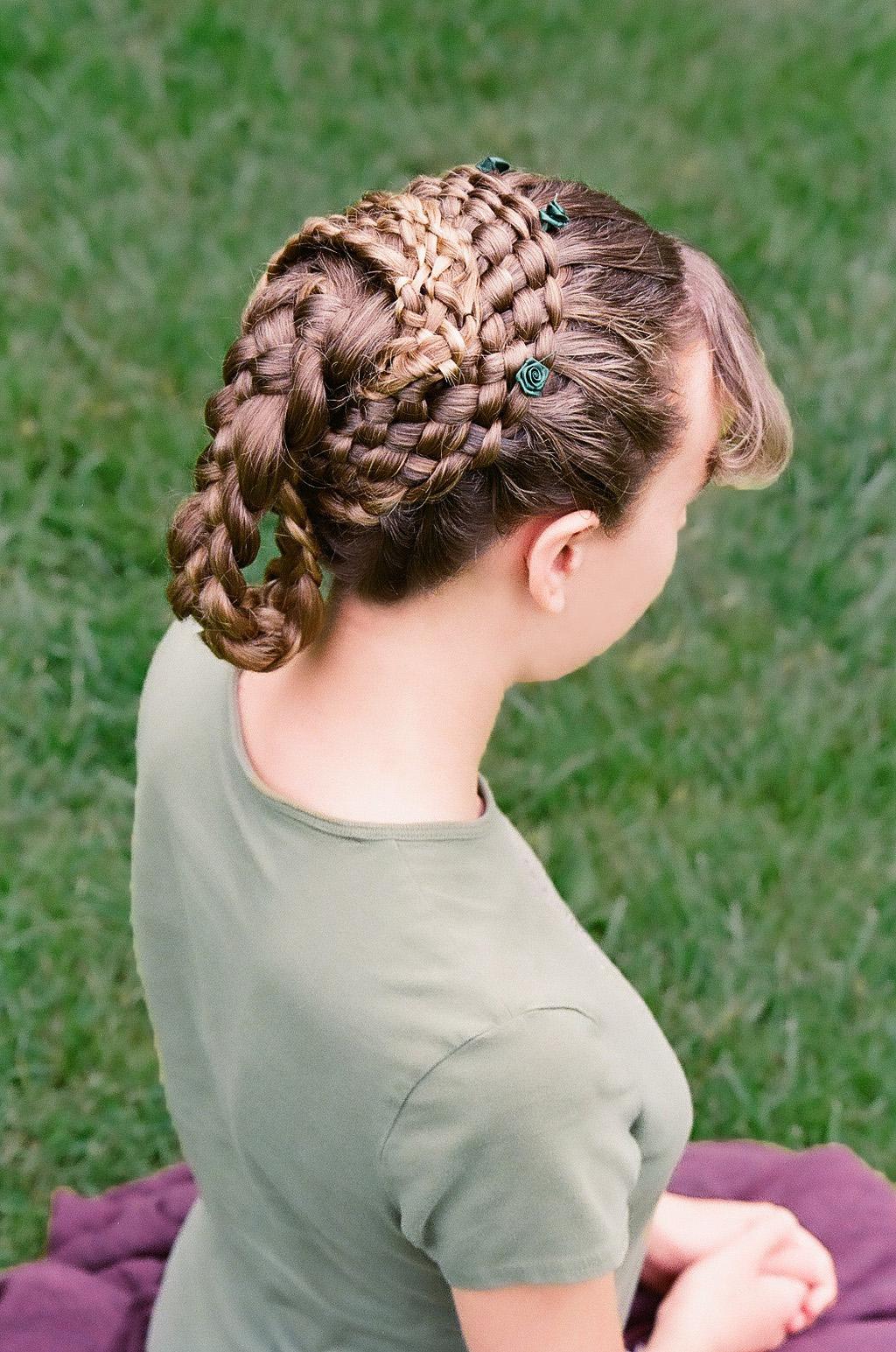 7-strand, french, lace, circle, mini five